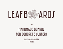 LEAFBOARDS — Handmade boards for concrete surfers
