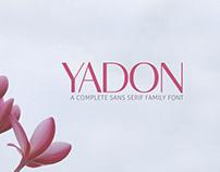 Yadon Sans Serif Fonts Family Pack
