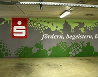 Mural Design Timelapse Video Sparkasse