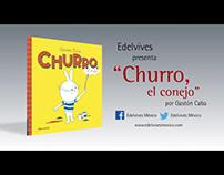 BOOKTRAILER: Churro, el conejo