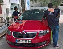 Car branding CNG