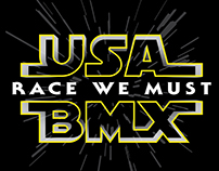 USABMX Star Wars Shirt