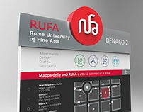 Wayfinding project for RUFA