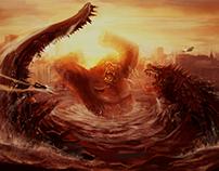 Kong vs Godzilla · Feb 2018