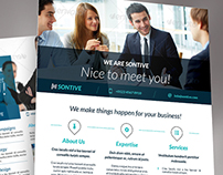 Corporate Business Flyer Set vol 4