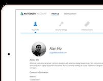 Autodesk Identity Profile