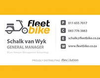 Fleetbike Business Cards