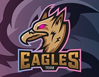 Eagles Team - Mascot Logo