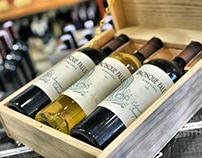 Wine Labels: Bosque Falls