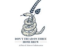 Don't Tread on Three Home Brew Logo