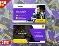 Graphic Designer Business Card PSD Template