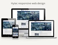 Hytec responsive web design