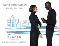 Skagen Connected Campaign