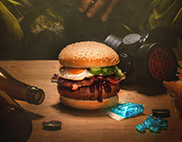 Heisenberg Burger - Sancho Casual Food