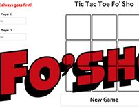 Tic Tac Toe game built using HTML5, CSS3, & JavaScript