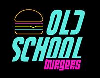 LOGO | Old school burgers