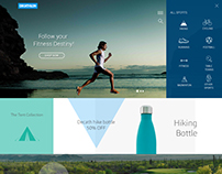 Decathlon Website- Redesign (concept)