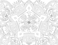 Hidden Objects Mandala