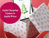 LG G3 Stylus - Christmas Edition