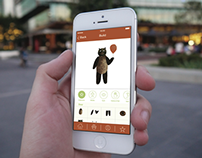 Mobile Application Design For Internship at 4iMobile