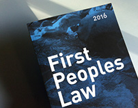 First Peoples Law ~ 2016