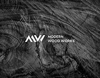 Modern Wood Works Logo