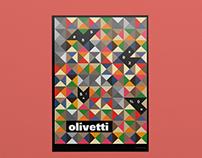 Olivetti | Reinterpret poster