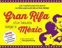 """Escenografia """"Gran Rifa d'un Fabulós Viatge a Mèxic"""""""