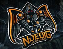 """NjediG Jedediah"" Esport Logo"