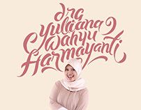 LETTERING NAME