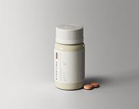 Medical Bottle Mockup