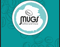 Mugs Coffee Shop Branding Design