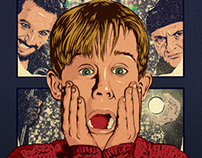 Home Alone Poster Art