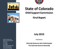 State of Colorado Child Support Commission Report