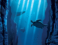 Oceans Print