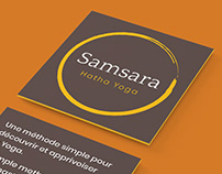 Samsara Hatha Yoga - Conception de logo