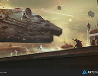 ILM STAR WARS CHALLENGE The Moment no.1