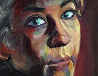 Portrait of Melissa McBride as 'Carol Peletier'