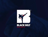 BLACK BELT Logo Design