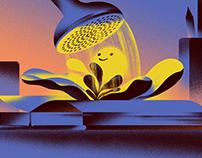 Selflove - Editorial Illustration