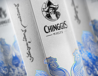 Chinggis WHITE vodka Lunar New Year gift box
