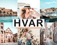 Free Hvar Mobile & Desktop Lightroom Presets