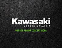 Kawasaki Malaysia Webdesign