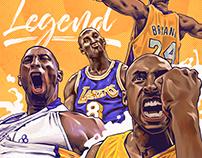 """""""Mamba Mentality"""" Kobe Jersey Retirement Tribute"""