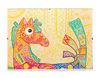 Soft pastel illustrations