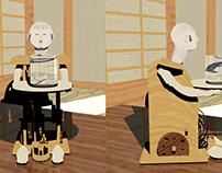 Karakuri Tea Serving Doll