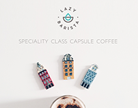 LAZY BARISTA Speciality Class Capsule Coffee /Packaging