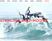 RAZ Surf Shop e-commerce design proposal