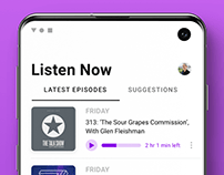 Apple Podcasts for Android Concept