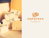 Syroteka. Farm cheese shop branding